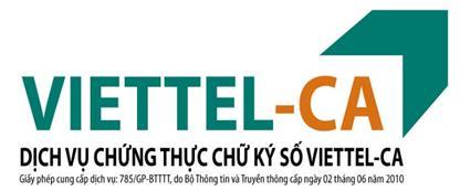 Chữ ký số Viettel